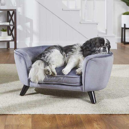 Hondenbank Romy Sofa Tin met hond
