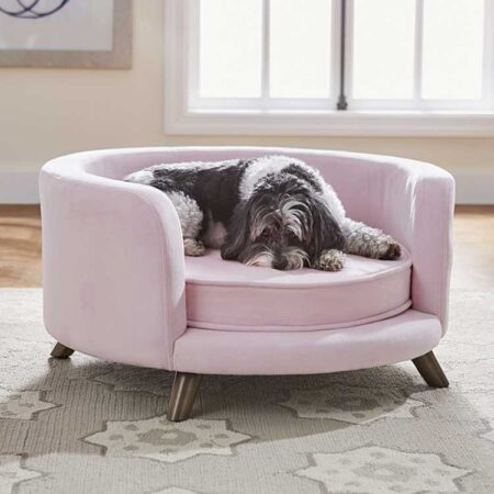 Hondenbank Rosie Sofa Roze