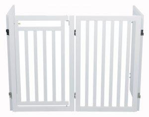 Trixie hondenhek met deur wit