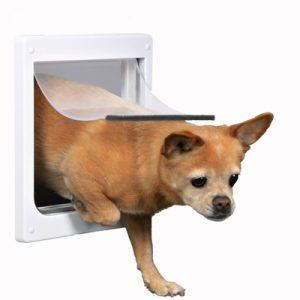 Trixie 2-weg hondenluik wit