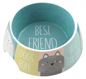 Tarhong voerbak best friends forever melamine multi